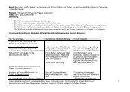 """Unterrichtsdokumentation: Innerbetrieblicher Kurs """"Vorbereitung auf ..."""
