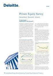 Private Equity Survey - Deutsche Beteiligungs AG