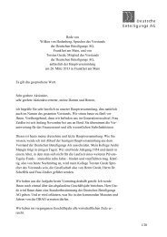1/20 Rede von Wilken von Hodenberg, Sprecher des Vorstands der ...