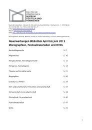 April/Juni (pdf) - Deutsche Kinemathek