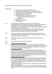 Protokoll des JBT Febr. 2011 - Deutscher Hockey Bund e.V.