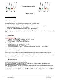 Sportordnung - DSkV
