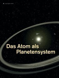 Das Atom als Planetensystem - Deutsches Museum