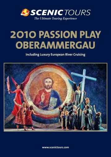 2010 Passion Play Oberammergau - Scenic Tours