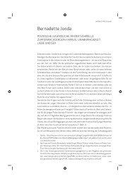 Bernadette Jonda: Auf der Schwelle zum Erwachsensein, oder
