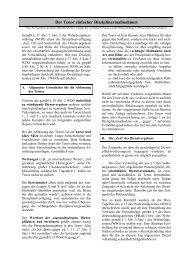 Der Tenor einfacher Disziplinarmaßnahmen - Deutsches Wehrrecht
