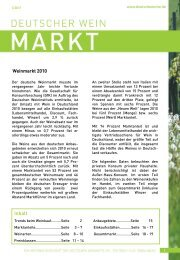 Mafo-Newsletter 1/2011 02 - Deutsches Weininstitut