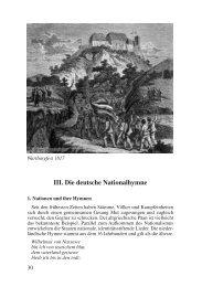 III. Die deutsche Nationalhymne - Deutschland Journal