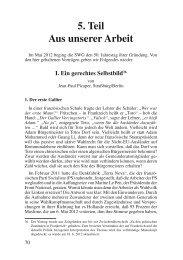 Ein gerechtes Selbstbild - Deutschland Journal