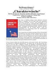 """""""Charakterwäsche"""" - Deutschland Journal"""