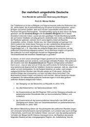 Der mehrfach umgedrehte Deutsche - Deutschland Journal