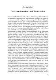 In Skandinavien und Frankreich - Stefan Scheil - Deutschland Journal