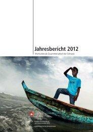 Jahresbericht 2012 - Deza - admin.ch