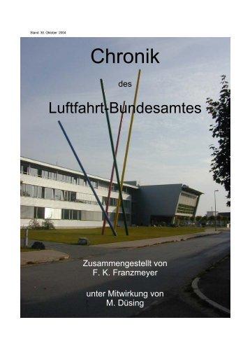 Luftfahrt Bundesamt - Deutscher Fluglärmdienst eV