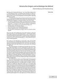 Historisches Ereignis und archäologischer Befund - Deutsche ...