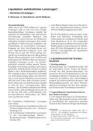 EEV [5. Auflage 2011] - Liquidation wahlärztlicher Leistungen - DGAI