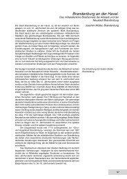 Brandenburg an der Havel - Deutsche Gesellschaft für Archäologie ...