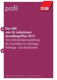 Das ABC von 36 Lohnsteuer- Grundbegriffen 2013 - DGB ...