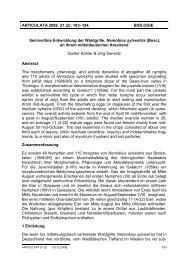 ARTICULATA 2006 21 (2): 183–194 BIOLOGIE Semivoltine ...