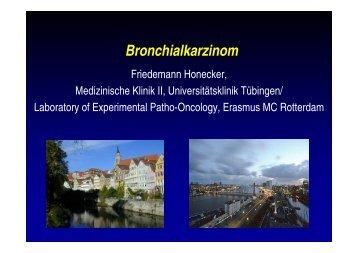 Vortrag Bronchialkarzinom DKK 2004 - DGHO