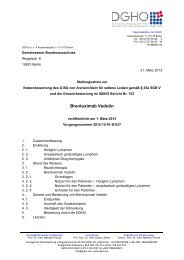 Brentuximab Vedotin DGHO Stellungnahme