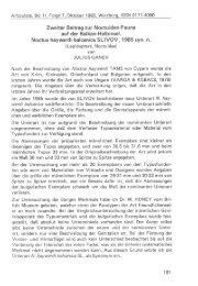 Zweiter Beitrag zur Noctuiden'Fauna auf der Balkan-Halbinsel ...