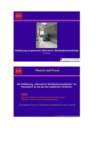 Hr. Dr. Kohnen - Validierung so genannter alternativer ... - DGSV