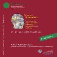 Systemische Hirngespinste – Ideen für die Praxis - DGSF