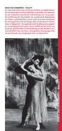 Zeughauskino: Kunst der Dokuments-Ballett
