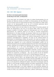 """Die Bundesrepublik – vom """"Provisorium"""" zum Verfassungsstaat"""