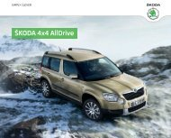 Škoda Yeti 4x4 AllDrive - DHT Automobile