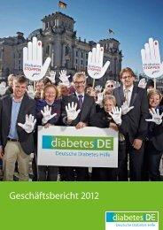 diabetes DE: Report 2009