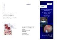 24. Fortbildungsveranstaltung Neurochirurgie ... - DIAKO Flensburg
