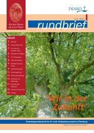 Rundbrief Nr. 6 - DIAKO Flensburg
