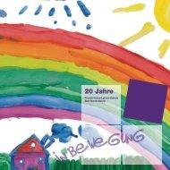 20 Jahre in Bewegung – Festschrift der Fürstin-Anna-Luisen-Schule