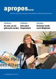 PDF herunterladen (707 KB) - Evangelische Diakoniestiftung Herford