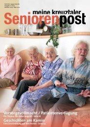 Seniorenpost 2009/2 - Diakoniestation Kreuztal