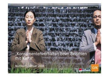 """""""Konsumentenverhalten beim Bezahlen mit Karte"""" - Die Deutsche ..."""