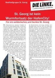 St. Georg ist kein Wurmfortsatz der HafenCity! - DIE LINKE in ...