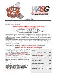 Mittenmang Januar 2007 - DIE LINKE in Hamburg-Mitte
