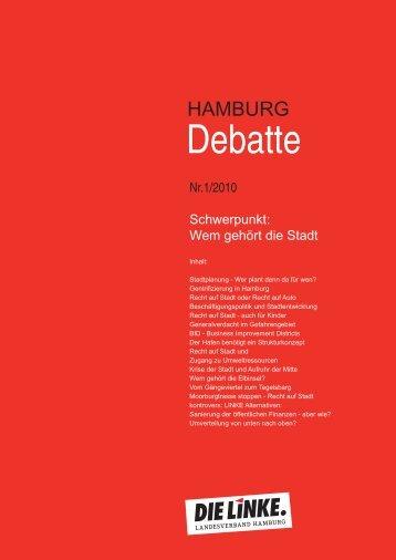 Nr. 1 / 2010 - DIE LINKE. Landesverband Hamburg