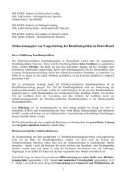 mehr - Die Linke. - Landtagsfraktion Sachsen-Anhalt