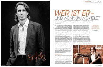Richard David Precht - Die Schreibstube - Sabine Reinthaler