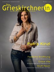 Petra Kinzl - Die Oberösterreicherin