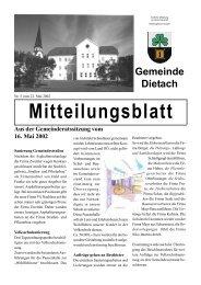 Ausgabe 5/2002 - Dietach