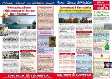 Sonderflyer 2013 Deutschland - PDF - Dietrich-Touristik
