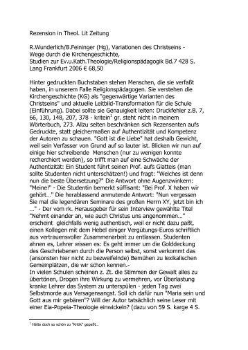 2. THLZ Rezension - Dietrich-von-heymann.de