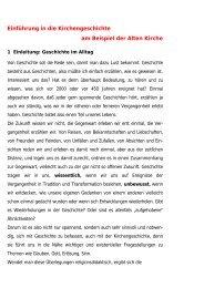Einführung in die Kirchengeschichte - Dietrich-von-heymann.de