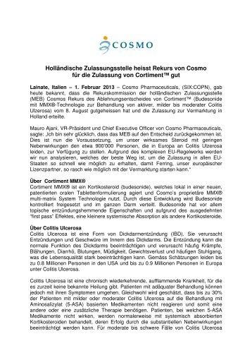 Holländische Zulassungsstelle heisst Rekurs von ... - dievini.com