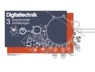 Digitaltechnik - Kapitel 3: Sequenzielle Schaltungen